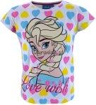 T-shirt Kraina Lodu Elsa Love Wish