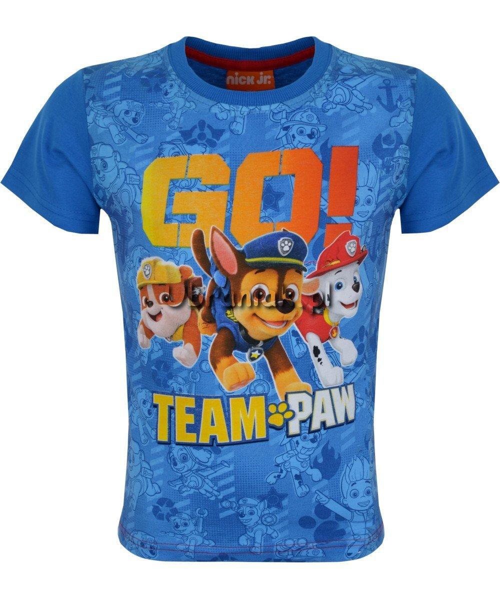 T shirt Psi Patrol Go niebieski