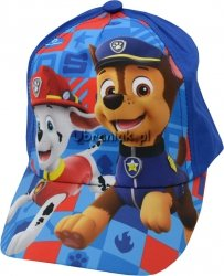 Czapka Psi Patrol z daszkiem niebieska
