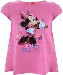 Bluzka Myszka Minnie rozkloszowana różowa