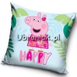 Poszewka Świnka Peppa HAPPY