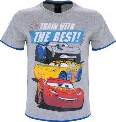 T-shirt Cars Zygzak Cruz i Storm szary