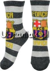 Skarpetki FC Barcelona szare