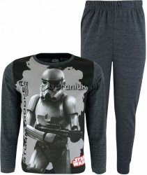 Piżama Star Wars StormTrooper ciemno szara
