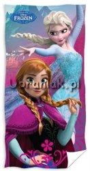 Ręcznik kąpielowy Kraina Lodu Elsa i Anna