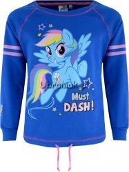 Bluza Kucyki Pony Rainbow Dash niebieska