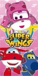Ręcznik kąpielowy dla dziewczynki Super Wings
