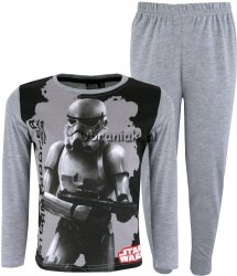 Piżama Star Wars StormTrooper szara