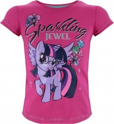 T-shirt Kucyk Pony Twilight różowy