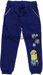 Spodnie dresowe Minionki granatowe