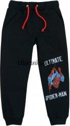 Spodnie Spiderman czarne