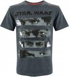 T-shirt Star Wars Ostatni Jedi grafitowy