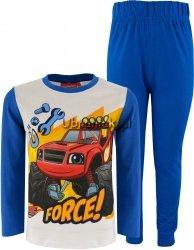 Piżama Blaze i Mega Maszyny niebieska