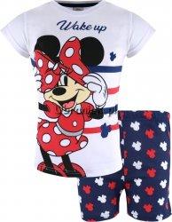 Piżama Myszka Minnie Wake Up! biała