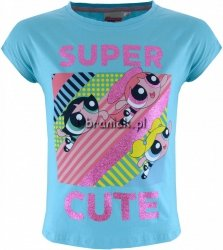 Bluzka Atomówki Super Cute niebieska