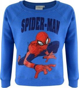 Bluza Spiderman niebieska