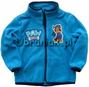 Bluza polarowa Psi Patrol niebieska