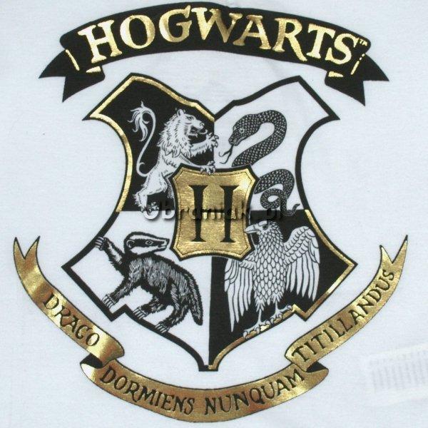T-shirt Harry Potter biały