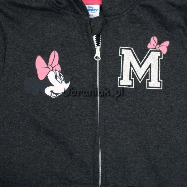 Bluza Dziewczęca Myszka Minnie z kapturem