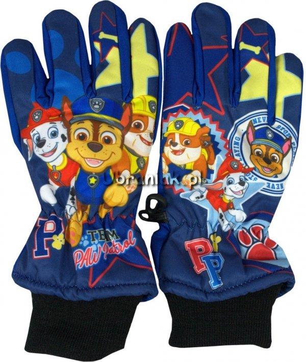 Rękawiczki Narciarskie Psi Patrol niebieskie