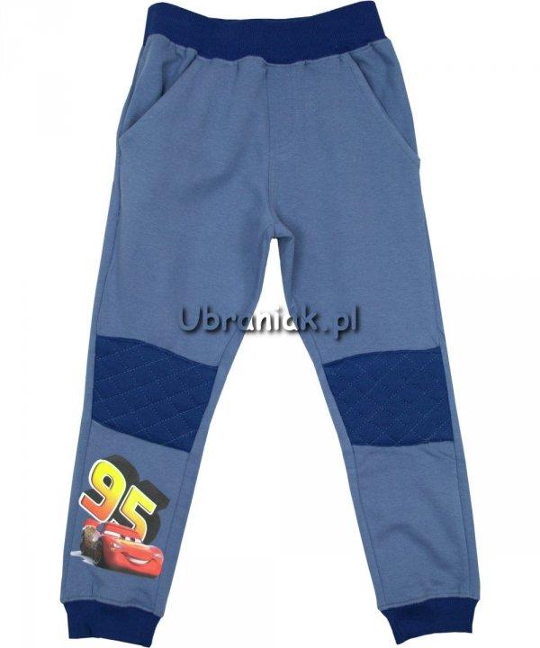 Spodnie Dresowe Auta niebieskie