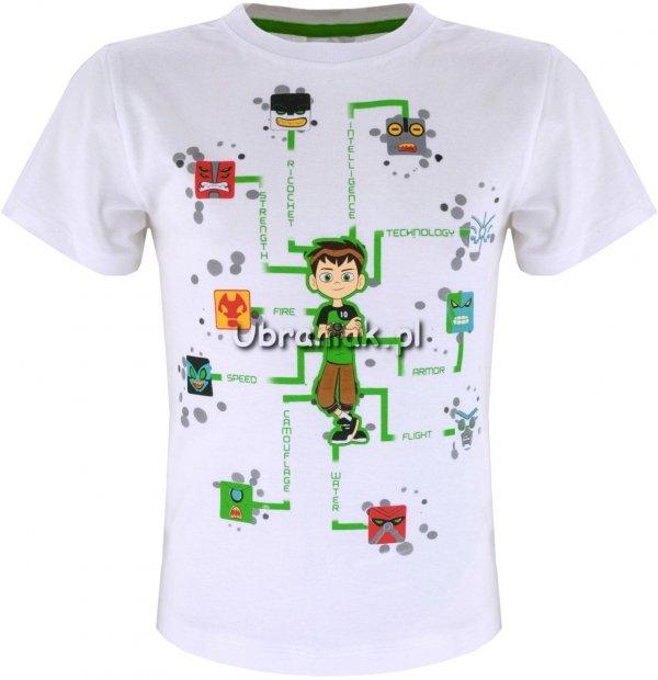 T-shirt Ben 10 biały