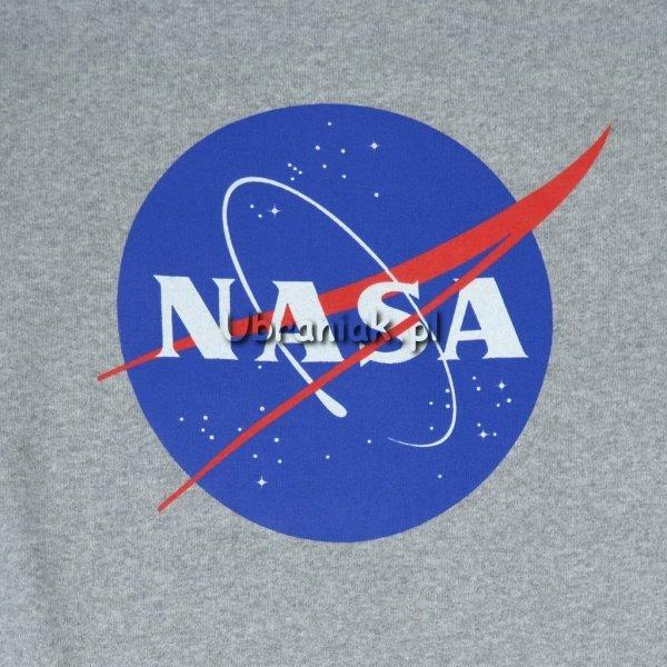 Bluza dziewczęca NASA Logo szara