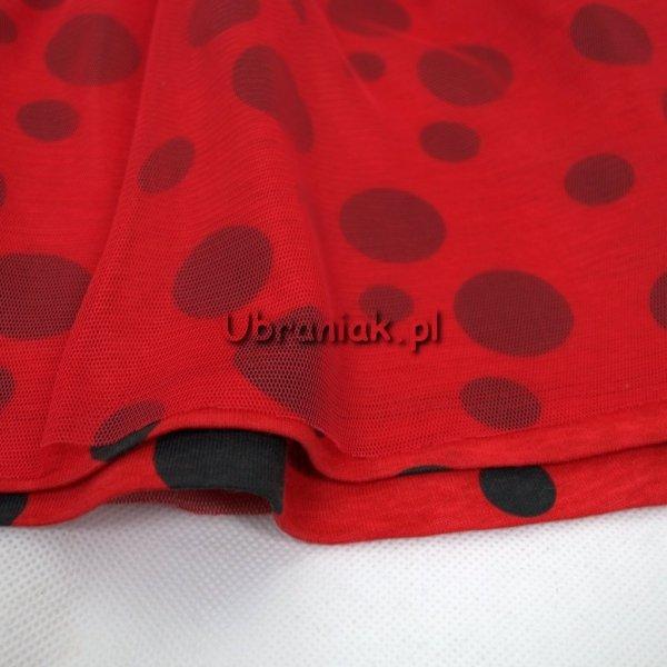 Sukienka Miraculum Biedronka i Czarny Kot tiul