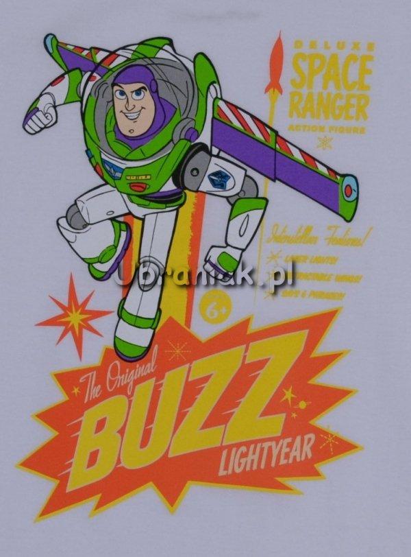 T-shirt Toy Story Buzz biały