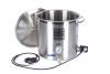 Garnek elektryczny 25l 2x2000W + kranik + termometr