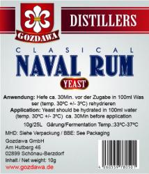 Drożdże CLASICAL NAVAL RUM 10g