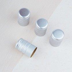 Zakrętka aluminiowa srebrna 30/44 mm