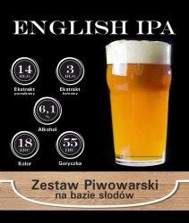 Surowce piwowarskie na 23L. - ENGLISH IPA