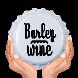 Kapsle białe BARLEY WINE 50sztuk.