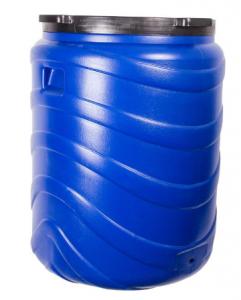 Beczka na kiszonki 240L niebieska