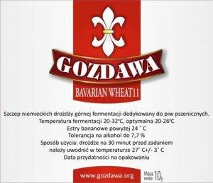 Drożdże do piwa pszenicznego bavarian wheat 11