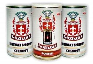 Porter - Mocny i aromatyczny - Zestaw - 5,1kg, Gozdawa