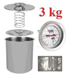 SZYNKOWAR NIERDZEWNY 3 kg Termometr Woreczki