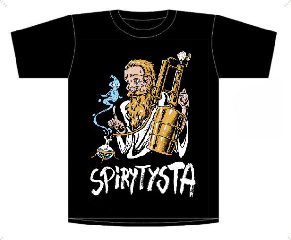 Koszulka, T-shirt Spirytysta roz. XXL