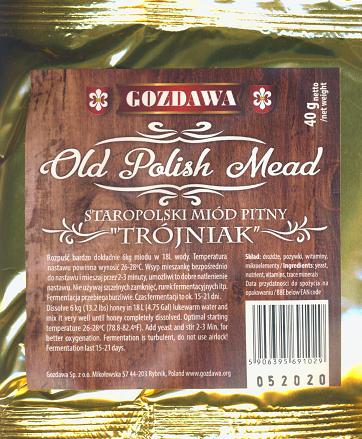 """Drożdże do miodu """"Old Polish Mead"""""""