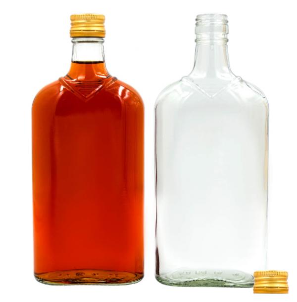 Butelka płaska + zakrętka 500 ml