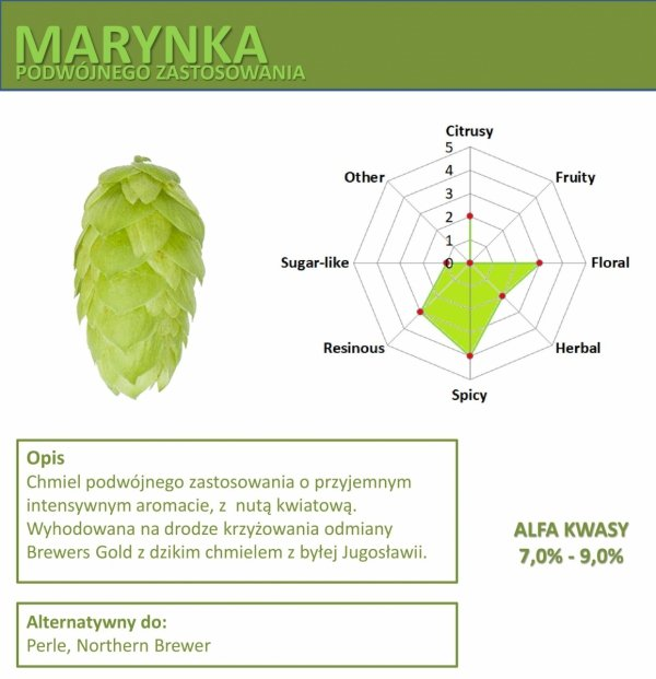 Chmiel Marynka 50g