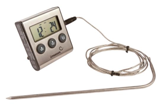 Termometr do żywności z sondą 0C -250C, 1,5m
