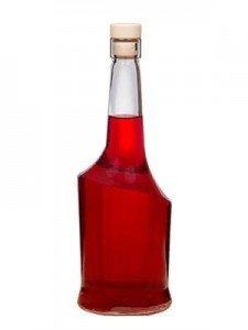 Butelka na nalewkę, soki i wino AISHA 500ml + korek