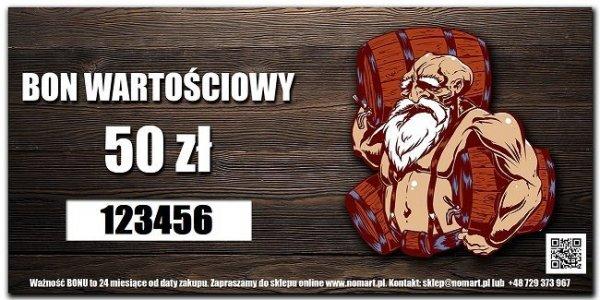 BON Wartościowy - 50zł