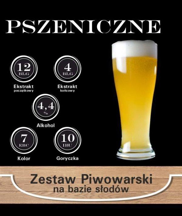 Surowce piwowarskie na 23L. - PSZENICZNE