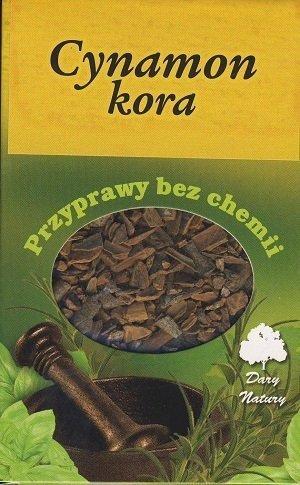 Cynamon kora - 60g - Dary Natury