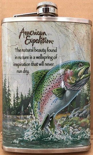 Piersiówka z rybą 230ml