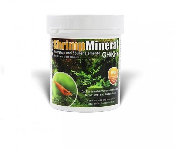 Salty Shrimp Mineral Gh/Kh+ 200G Neocardina