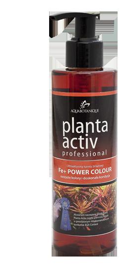 Aquabotanique Planta Activ Power Colour Fe+ Żelazo 500Ml 0,5l